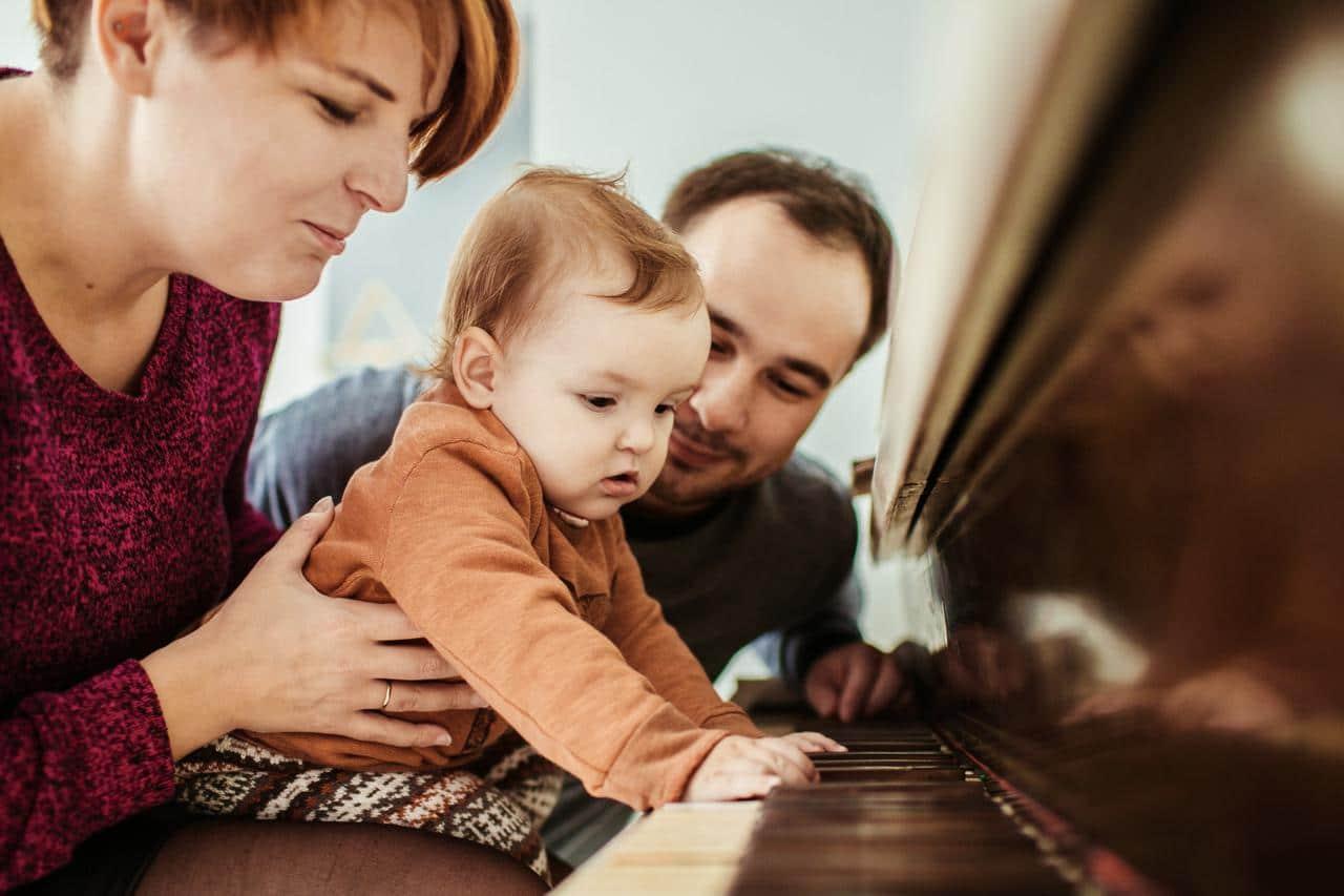 Musik für Babys und Eltern