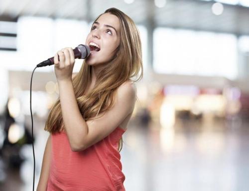 Gesangsunterricht, Stimmtraining